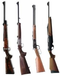 carabine bolt action, lever action, semiautomatiche, kipplauf